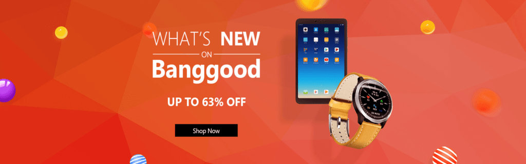 Banggood quality products discount