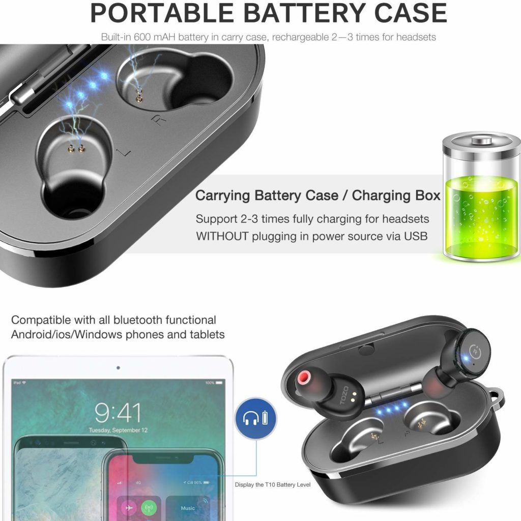 Bluetooth 5.0 Wireless Earbuds coupon discount