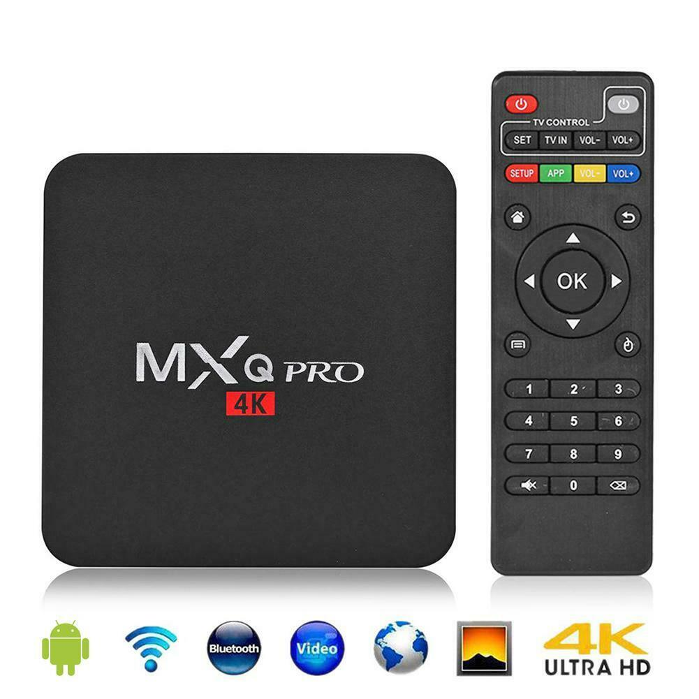 Smart TV Box with Remote Deal Discount